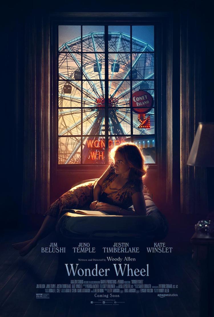 《摩天轮》(Wonder Wheel)电影影评:由内向外看,还是由外向里看?-爱趣猫