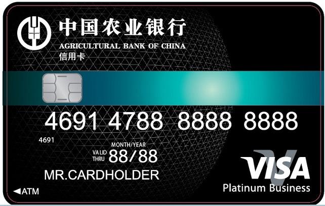 农行全球支付芯片卡