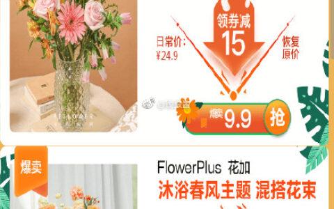 京东9.9亓买鲜花