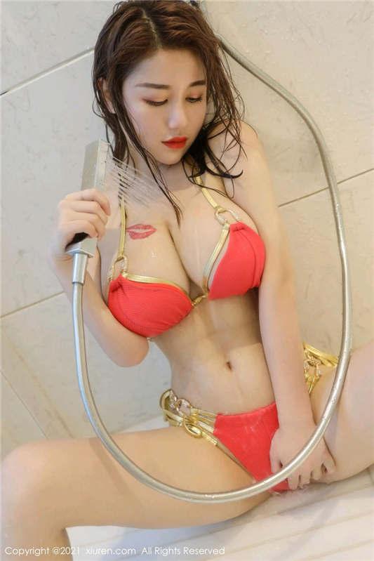 图片[2]-秀人网嫩模『美七』女神大尺度魅惑私拍流出[10P/1V/308MB]-醉四季