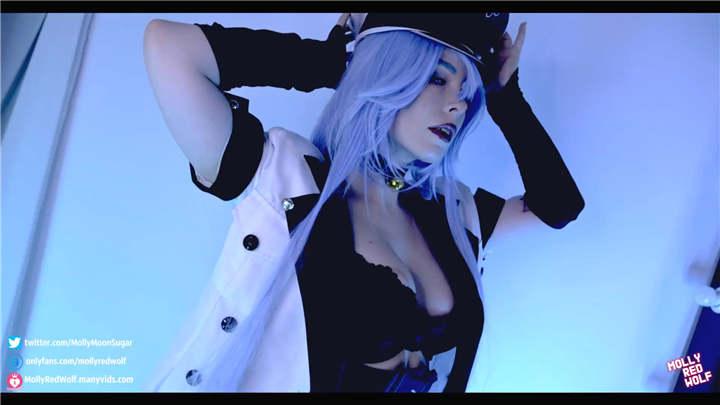 图片[2]-mollyredwolf cosplay艾斯德斯 [2V/220MB]-醉四季