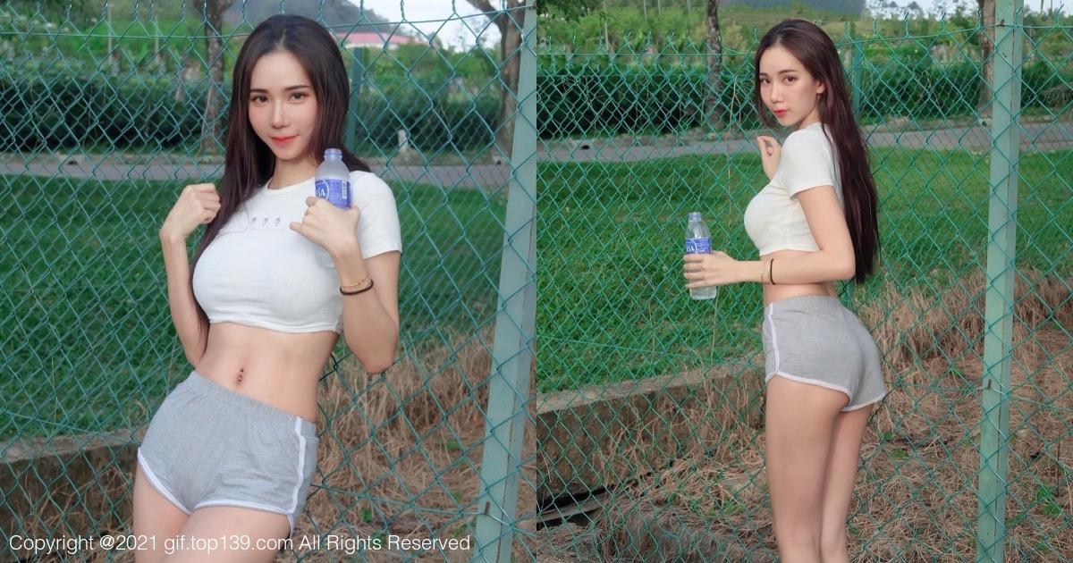马来西亚的网红美女Pei Yu沛妤天使级的颜值和甜美气质