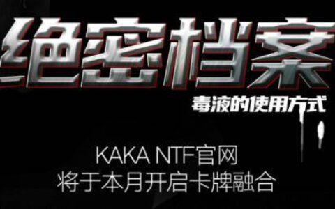 KAKA NFT科普大揭秘,链游新格局已至
