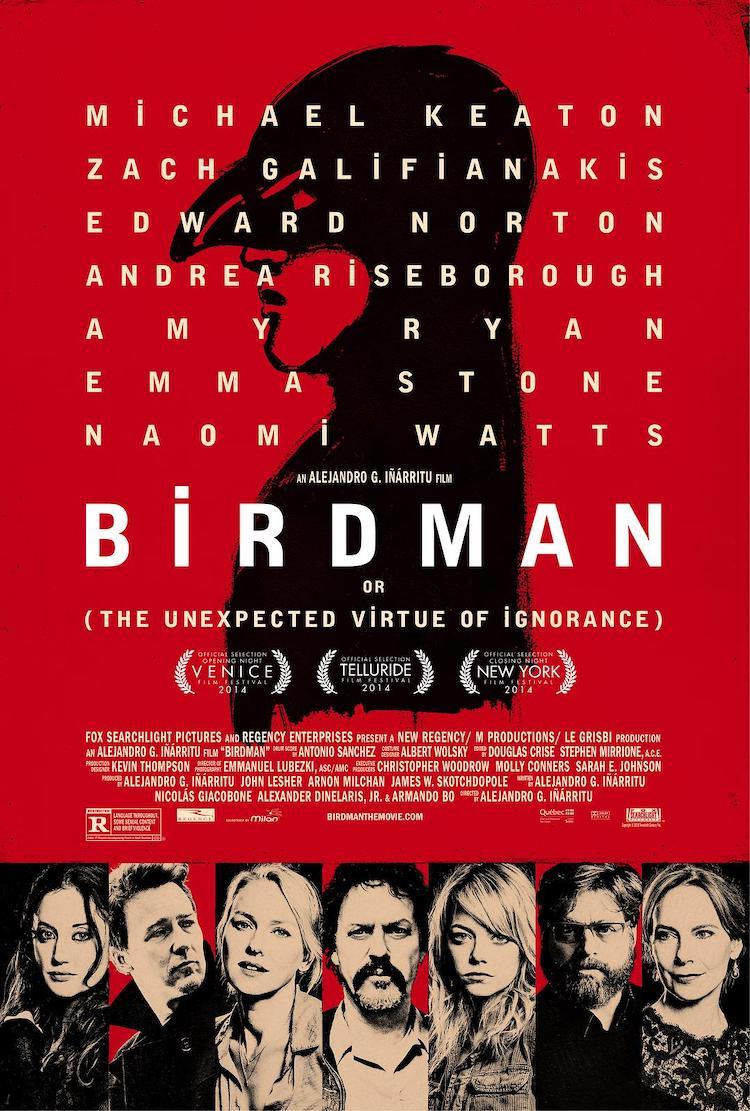 《鸟人》(Birdman)电影影评:黑色喜剧,喜不喜欢仁者见仁智者见智
