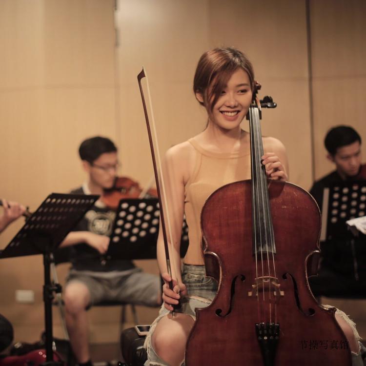 大提琴家教老师@Emily Sung清纯写真图片作品