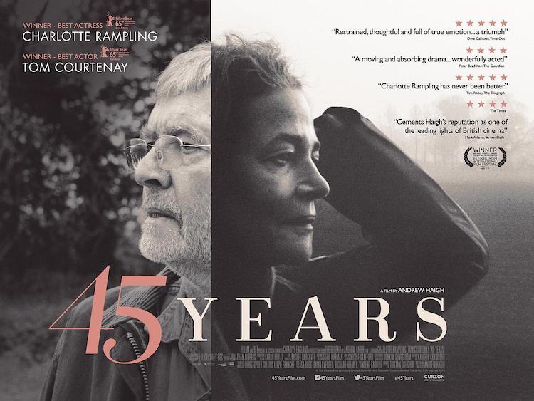 《45周年》电影影评:时间背景压缩在六天内,是特色也是小小的缺憾