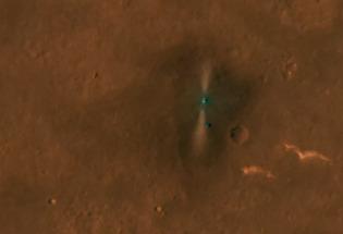 "NASA火星轨道卫星偶遇""祝融号"""