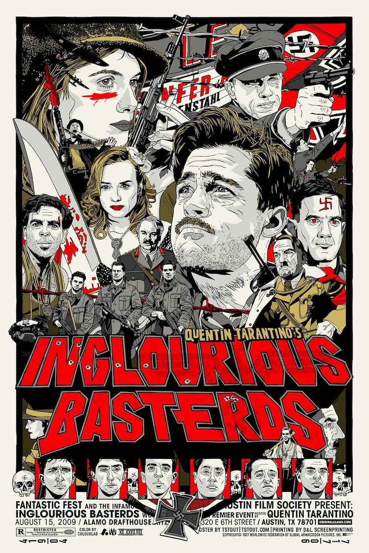昆汀·塔伦蒂诺《无耻混蛋》电影影评:豆瓣8.6的高分电影好看吗?