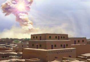 圣经时代的中东古城被陨石毁灭,威力约为广岛原子弹的1000倍