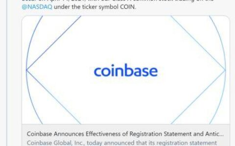 欧易CEO Jayhao:Coinbase上市作为加密资产交易所仍处于早期市场探索阶段
