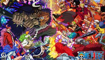 动画「海贼王」第1000话纪念视觉图公开