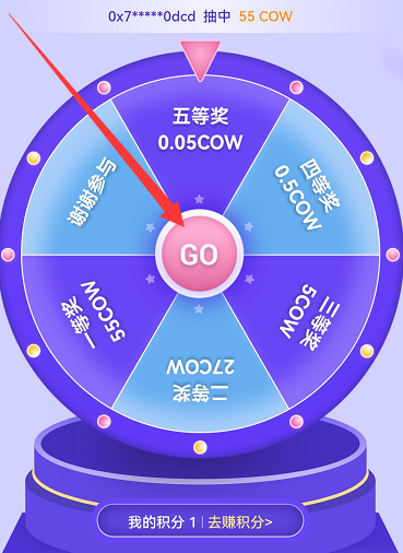 Huobi wallet火币钱包,新用户获得一次积分抽奖机会,最高可获 100 USDT奖励!