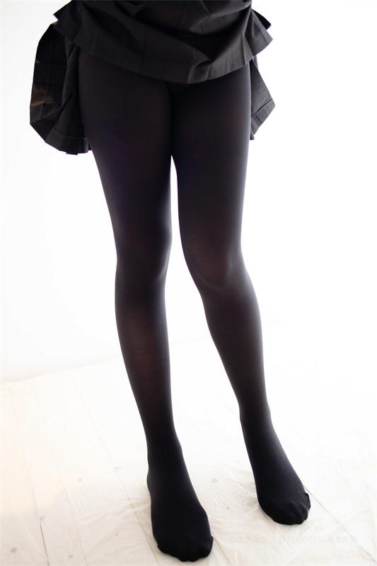 ⭐丝模写真⭐森萝财团-爱花写真-ALPHA-021黑色蕾丝[117P/1.28GB]插图1