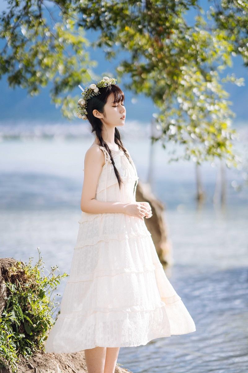 ⭐微博红人⭐镜酱-coser@NO.019《静夏》旅拍写真集[225P-3.31GB]插图4