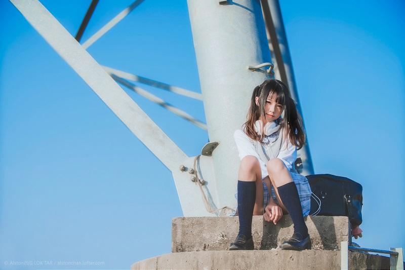 ⭐微博红人⭐桜桃喵@写真cos-蜜桃苏打味的夏天(桜桃喵)【10P/24MB】插图