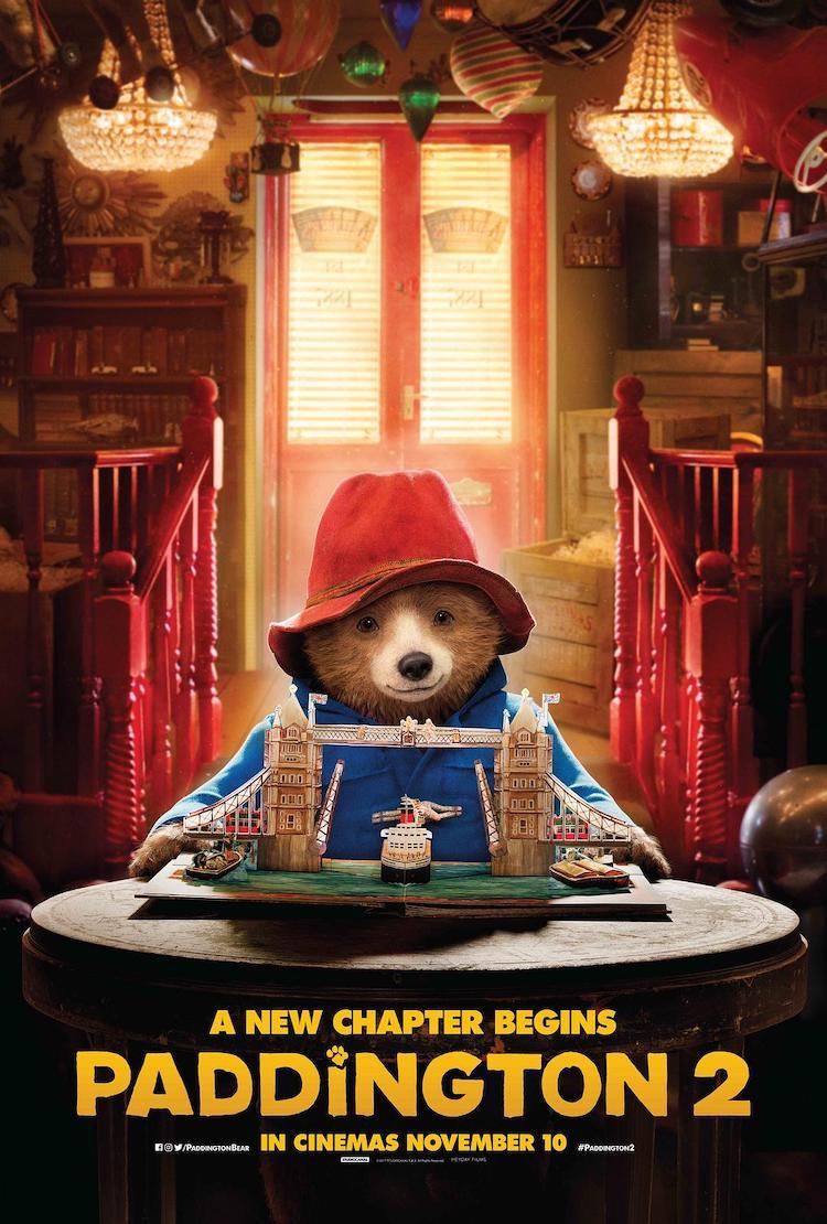 《帕丁顿熊2》(Paddington2)电影观后感:精心出击的漂亮杰作,温暖感人又张力十足-爱趣猫