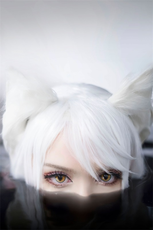 ⭐cos套图⭐Sayathefox – NO.04 -白毛狐狸 [11P-28MB]插图