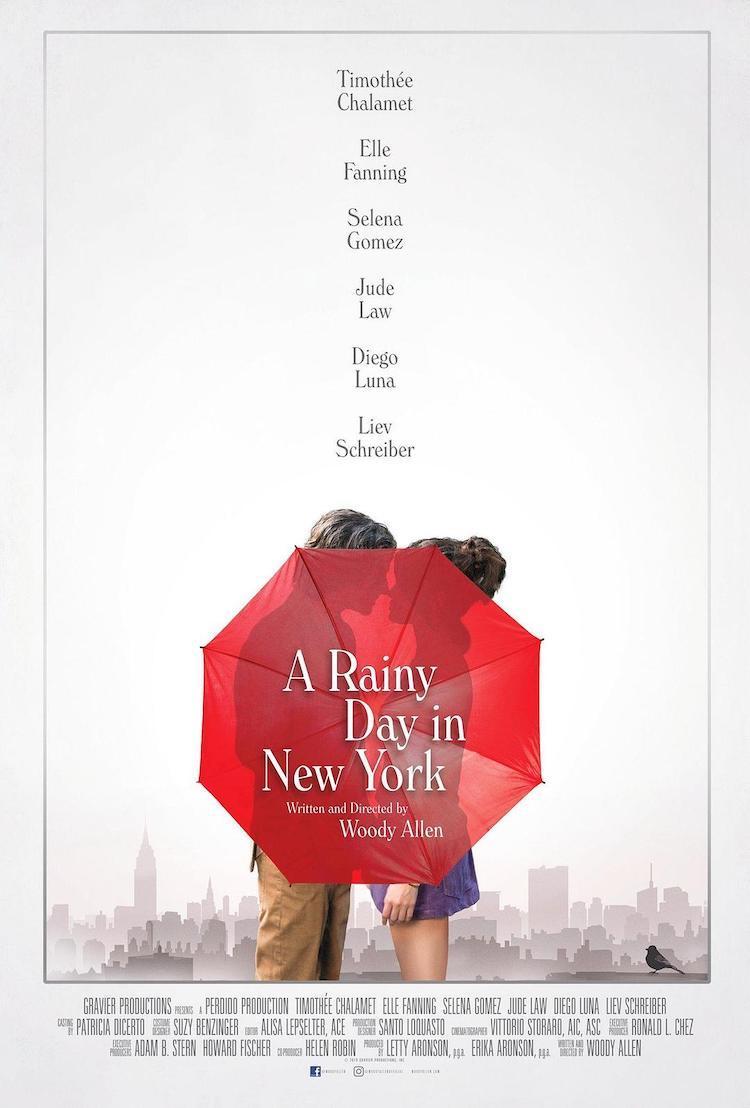 《纽约的一个雨天》电影评价:精准又诙谐的剧本,字字珠玑、处处笑点
