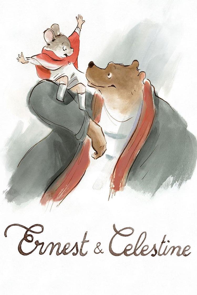 【法国动画电影】《艾特熊和赛娜鼠》电影评价:简单迷人的寓言
