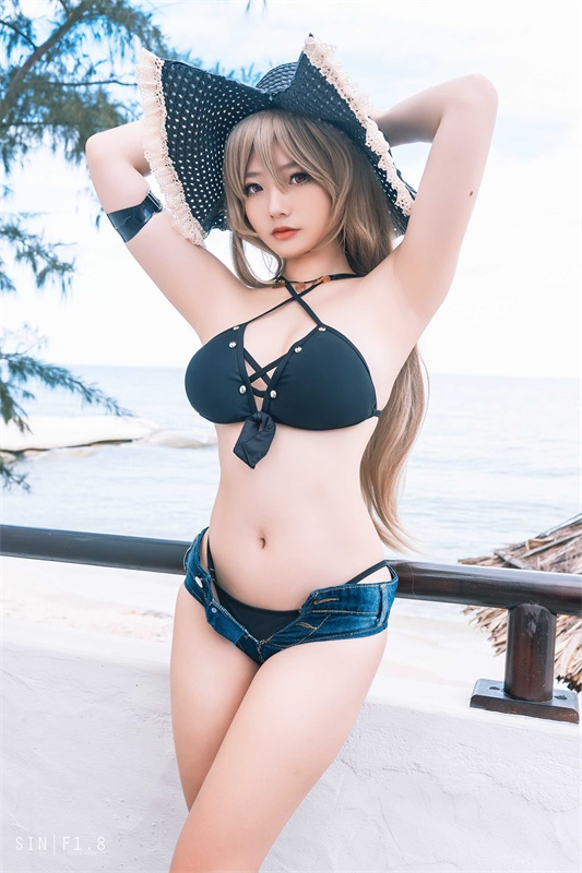 ⭐cos套图⭐Messie Huang-性感美女@Jean Bart swimsuit【20P/62MB】插图1