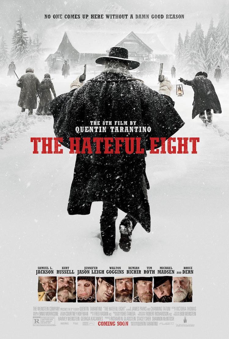 《八恶人》评价:对昆汀·塔伦蒂诺的影迷来说,绝不会失望