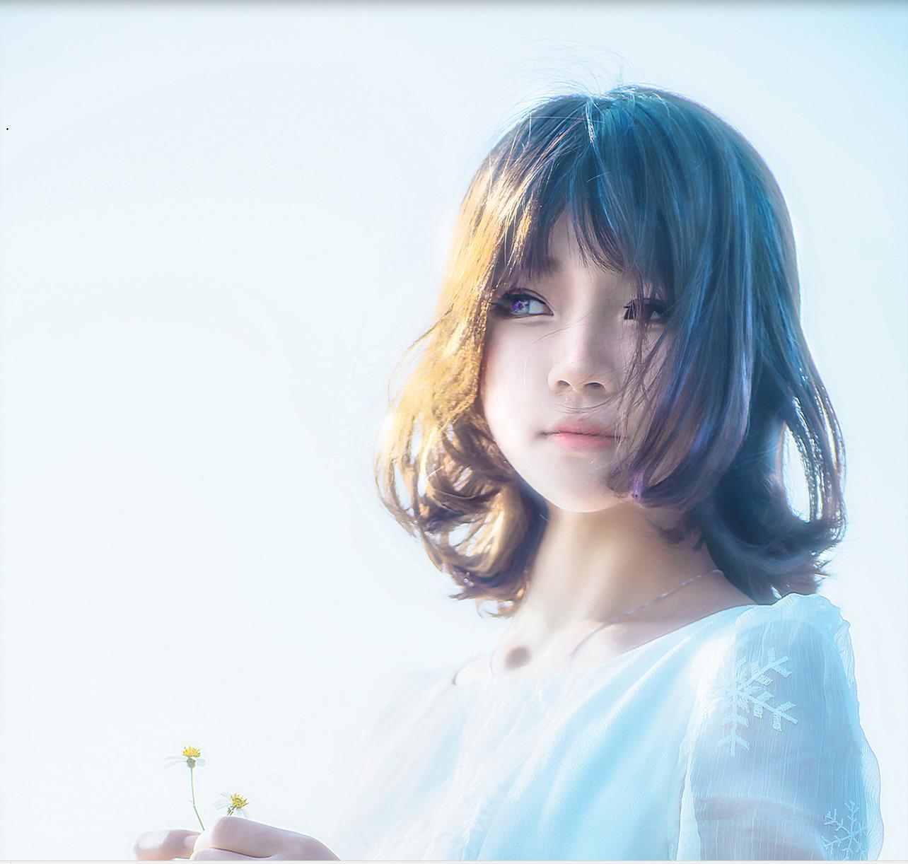 ⭐微博红人⭐桜桃喵人气Coser-空气少女【10P/8MB】插图