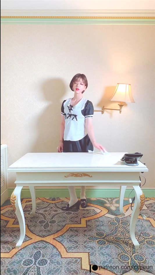 图片[3]-韩国首席超美伪娘『Jieun』女仆装[1V/553MB]-醉四季