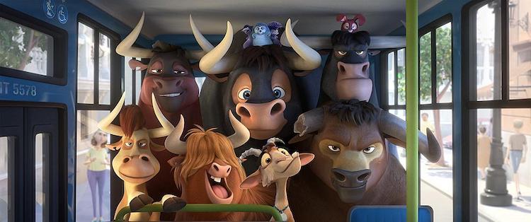 【动画电影】《公牛历险记》影评:爱花的温柔牛很能打动人心