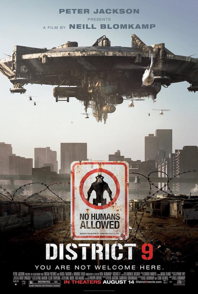《第九区》(District 9)电影影评:不一样的外星片,挺发人深省的