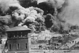 纪念100年前的塔尔萨种族屠杀事件