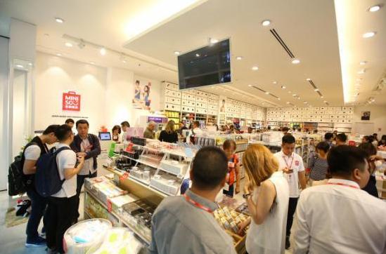 MINISO名创优品店铺装修作风再晋级 刷新你的购物体验