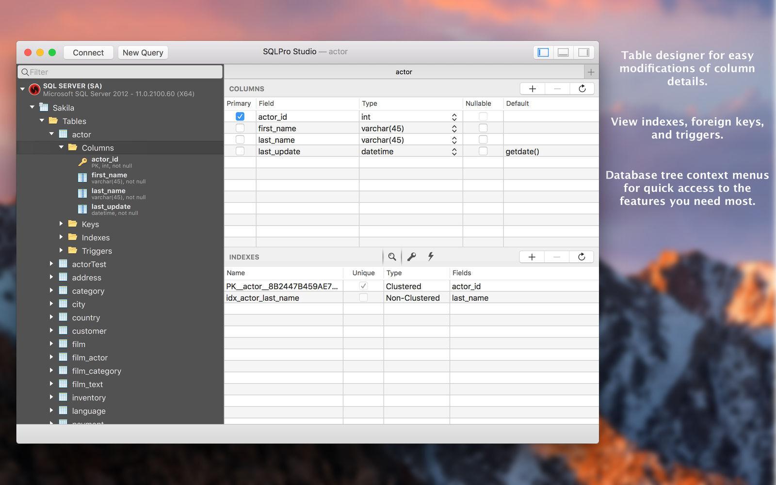 SQLPro Studio for Mac