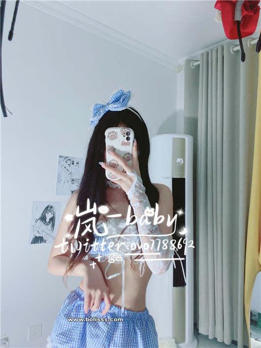 图片[3]-原味岚 – 蓝色小裙[1V/24P/100MB]-醉四季