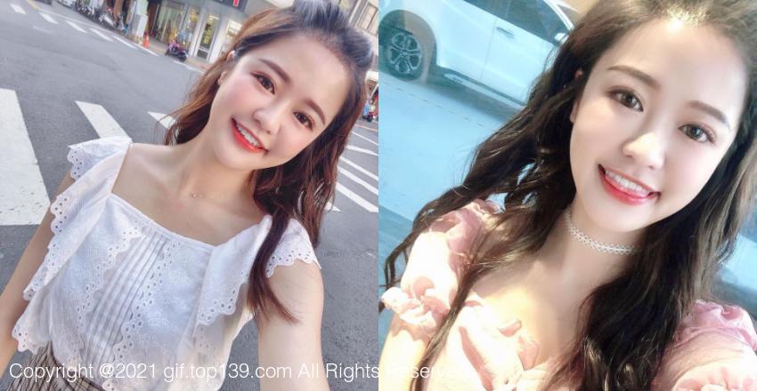 美女彩妆师「Tien小天」甜美的微笑可爱到爆
