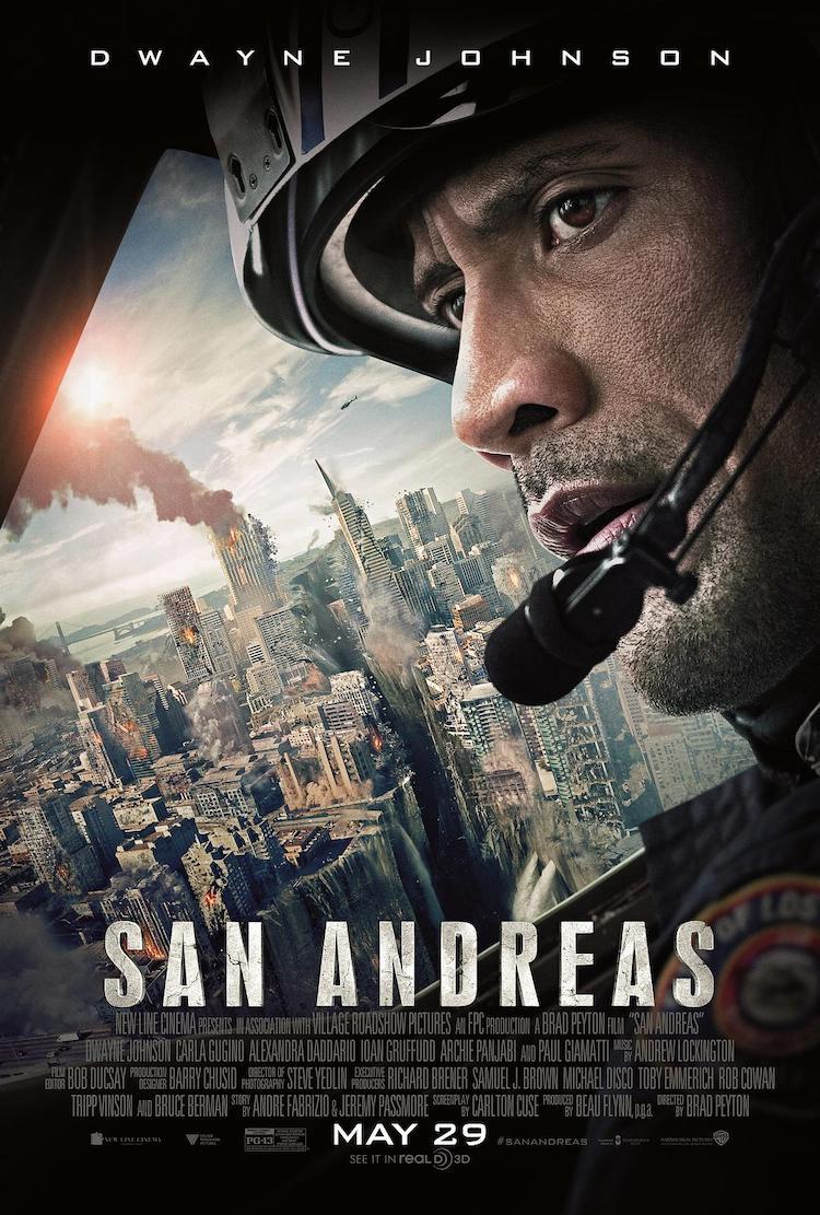 巨石强森主演《末日崩塌》(San Andreas)电影影评:讲的是很「小我」的英雄故事