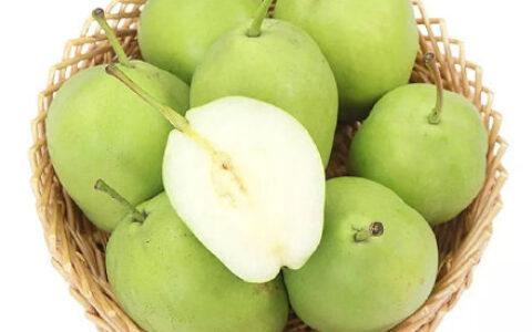 【京东】早酥梨整箱5斤 极速版【4.9包邮】陕西酥梨梨