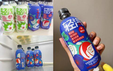 夏日冰箱常备选手!喝起来味道有点像苹果味的美年达!