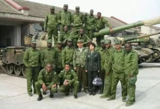 非洲有多少将军是石家庄毕业的?