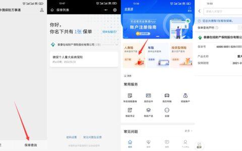 【查询自己名下保险保单方法】中国保险行业协会官方出