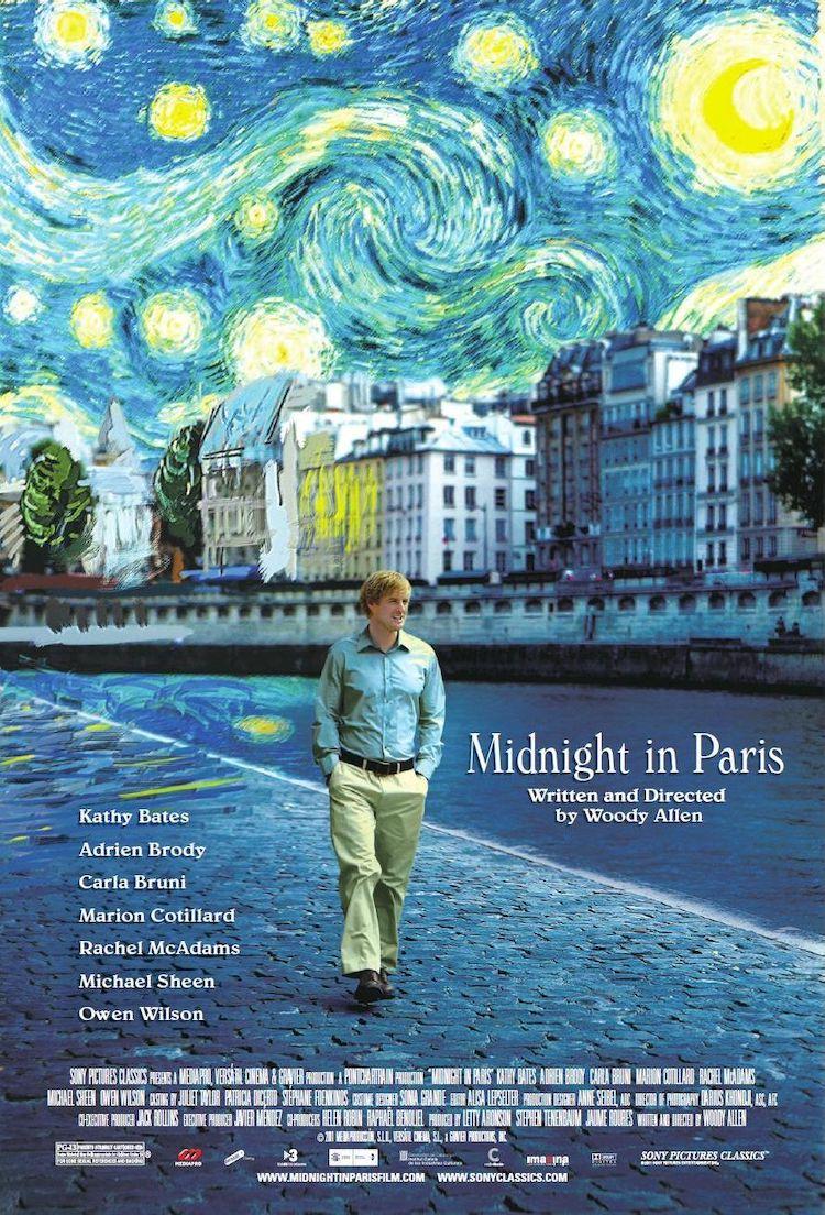 《午夜巴黎》(Midnight in Paris)电影影评:你觉得淋着雨走在路上是浪漫的事吗?
