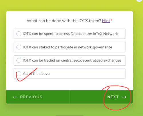 IoTeX:联合CoinMarketCap和币安空投500万枚IoTeX代币!