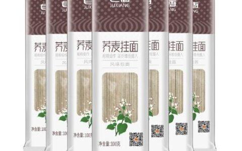 巨香荞麦面100g*10包【9.7】 巨香荞麦面100g*10包无糖