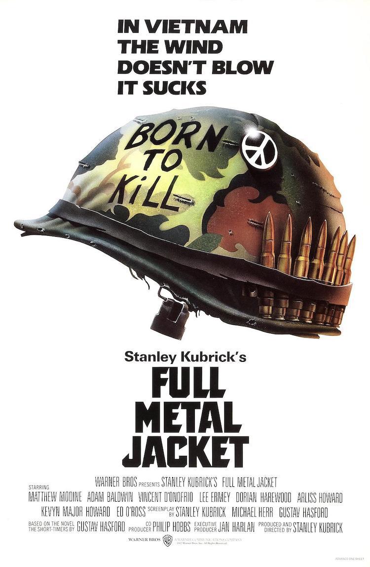 斯坦利·库布里克《全金属外壳》电影——人就算包着金甲也还是肉做的