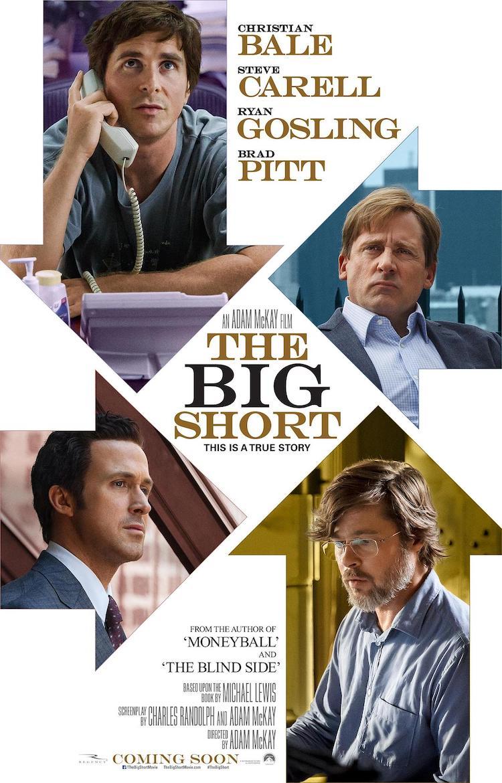 克里斯蒂安贝尔《大空头》(The Big Short)电影评价:以嘲讽戏谑的方式呈现严肃的金融题材