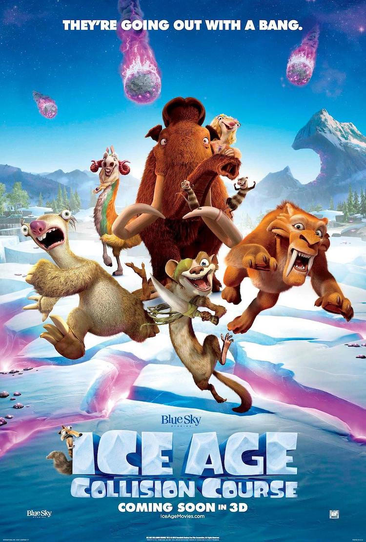 《冰川时代5:星际碰撞》(Ice Age:Collision Course):改变,是生活的一部分-爱趣猫