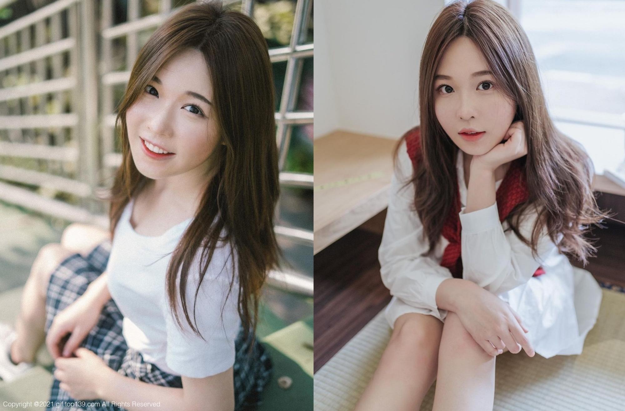 泰国妹「JellyNamjai」无辜表情甜而不腻「清新笑容」更是治愈感十足
