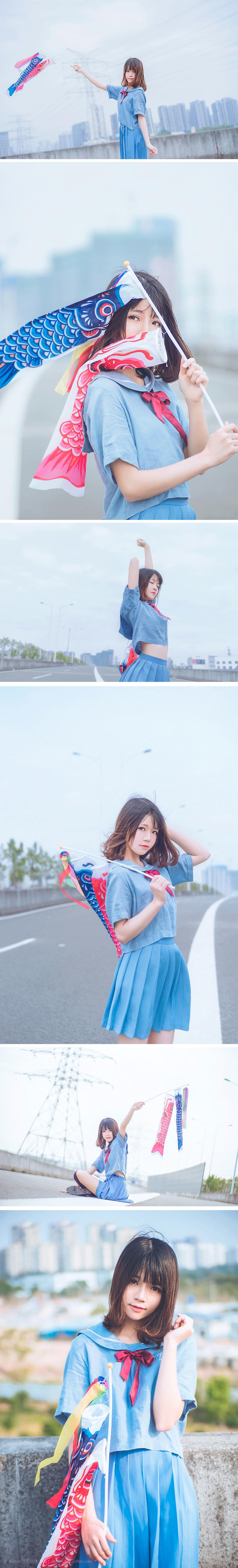 免费⭐微博红人⭐桜桃喵@写真cos-由短至长(桜桃喵)插图6