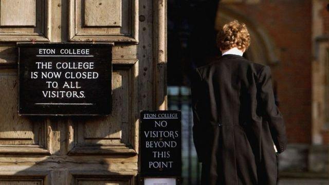 图像加注文字,有近600年历史的伊顿公学被称为世界最著名的私校。