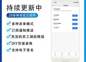 赢涛智慧工单DIY表单系统【更新至V1.8.0】
