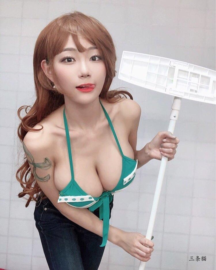 韩国主播Berry(빛베리)真人版娜美图片欣赏 美图 热图4